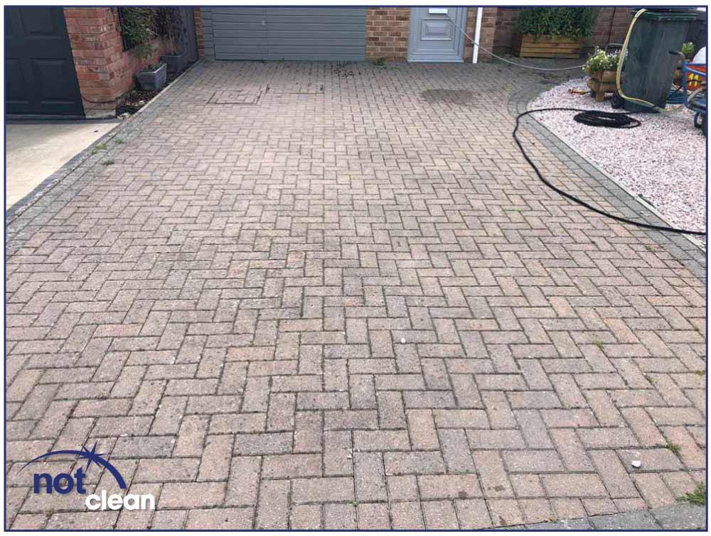 Nice Clean - Driveway Cleaning - After