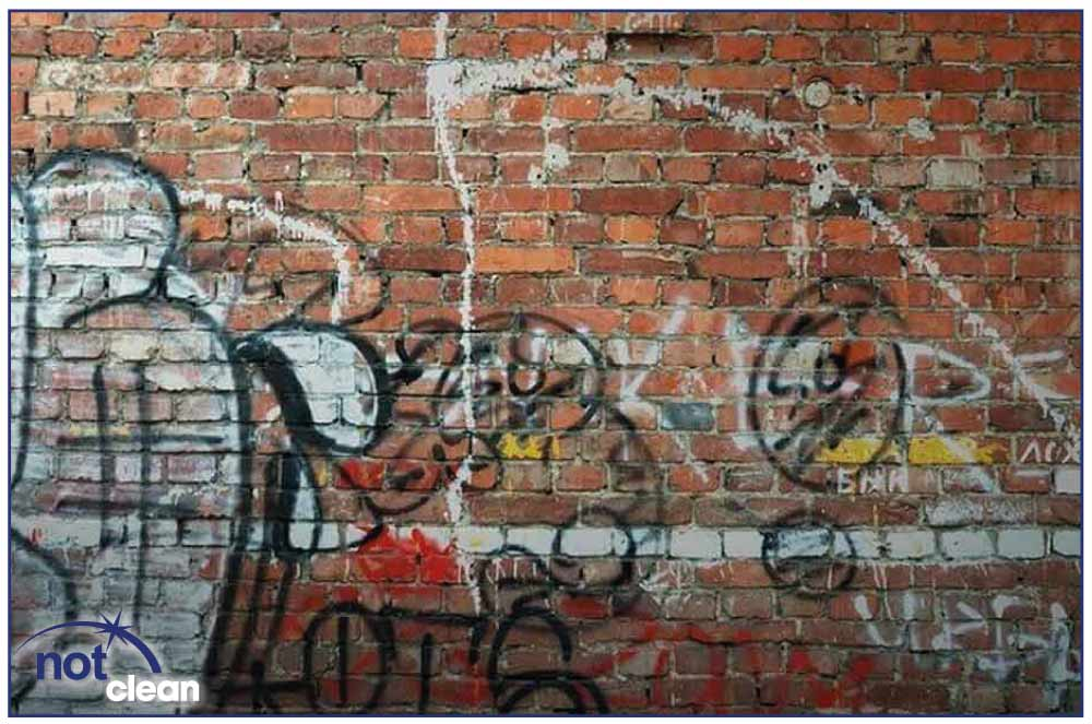 Graffiti Removal - After Nice Clean
