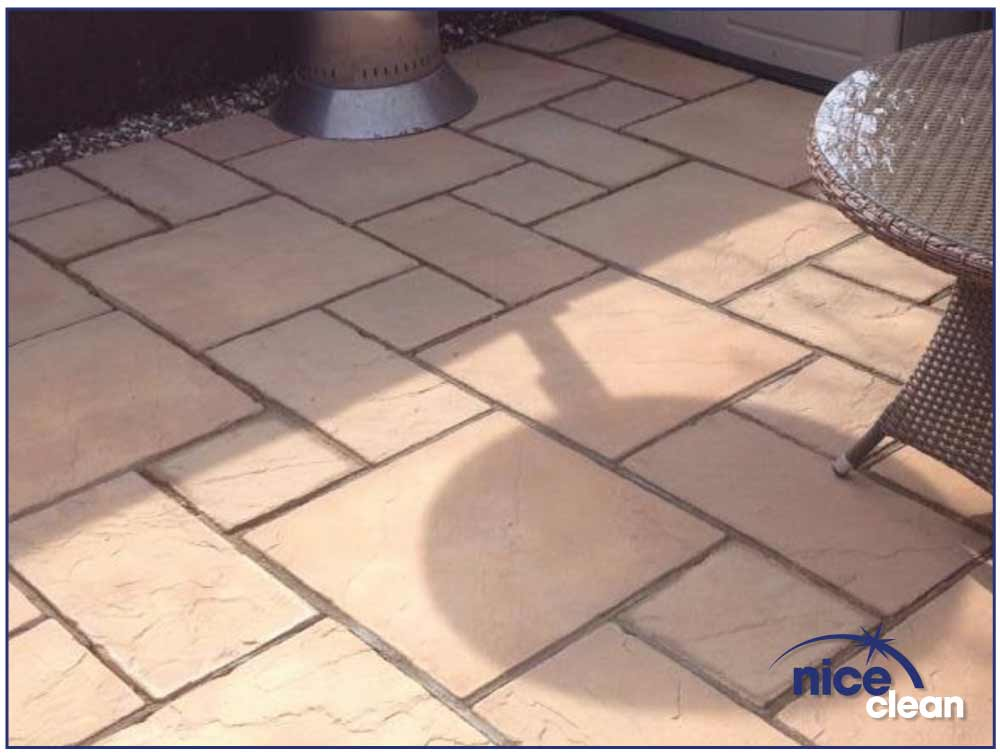 Nice Clean - Patio Cleaning - After