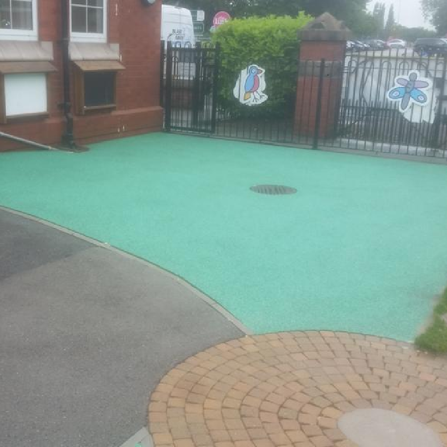 Nice Clean - School Playground After a Clean