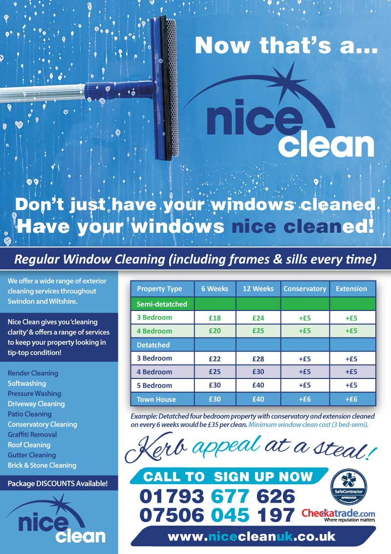Window Cleaning by Nice Clean